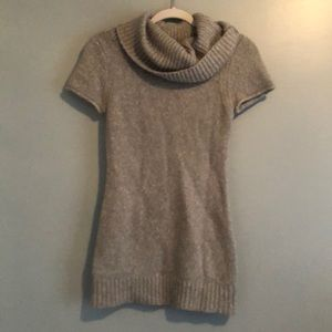 AphOrism Gray Sweater Dress Small